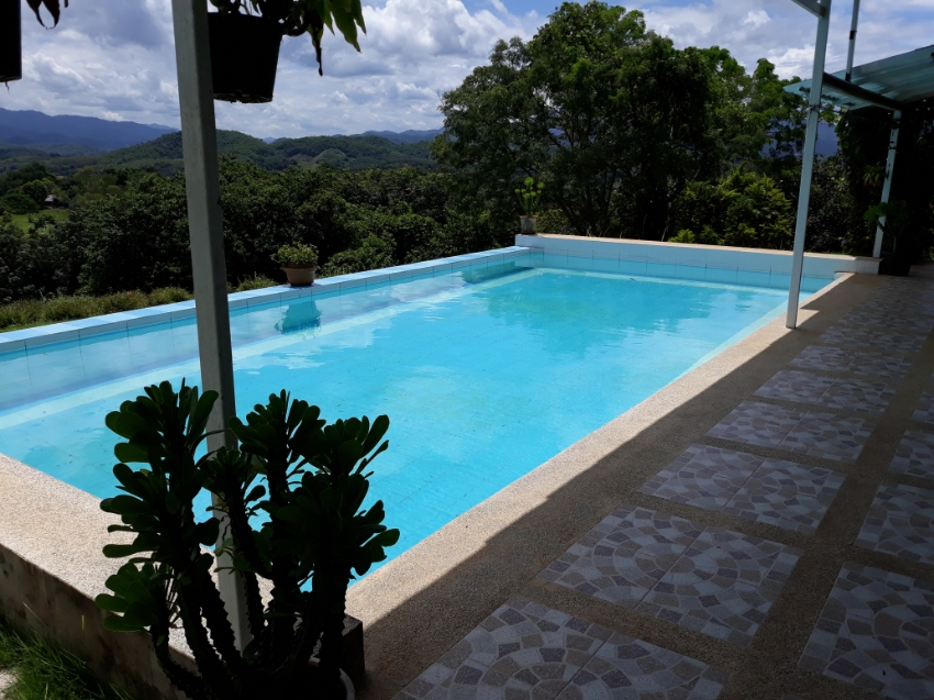 New house with pool. Exceptional view. Inserted in tropical nature.